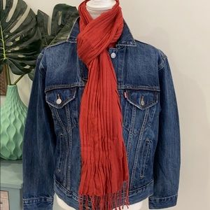 Accessories - Scarf rust red